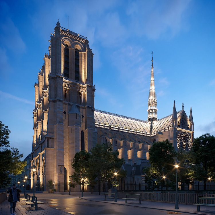 Notre Dame Roof & Spire Concept by Miysis Studio