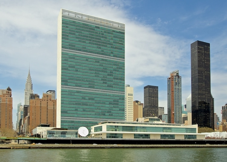New York Architecture - UN Building