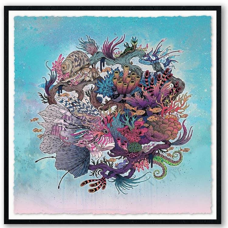Ocean-Inspired Art