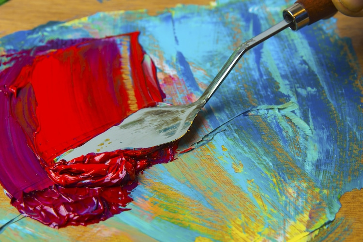 How To Create Beautifully Textured Paintings With Palette Knives