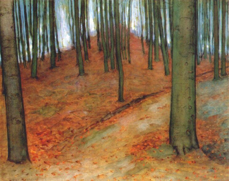Landscape Painting by Piet Mondrian
