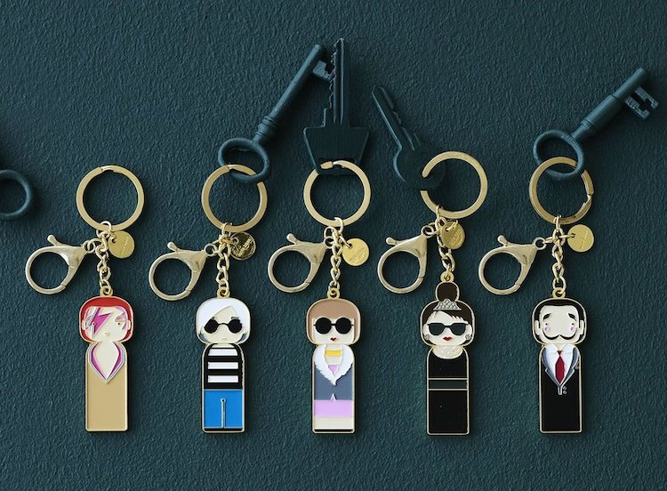 Quirky Pop Culture Keychains