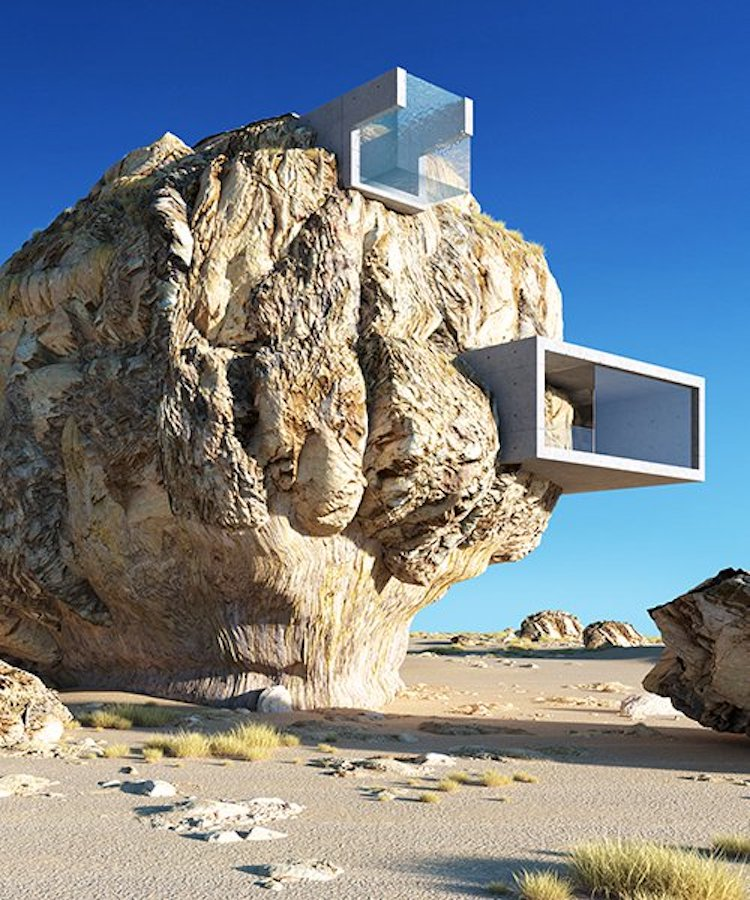 Rock House Concept by Amey Kandalgaonkar