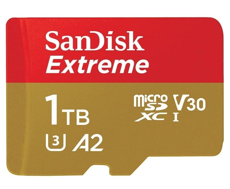 SanDisk Extreme microSD UHS-I Card
