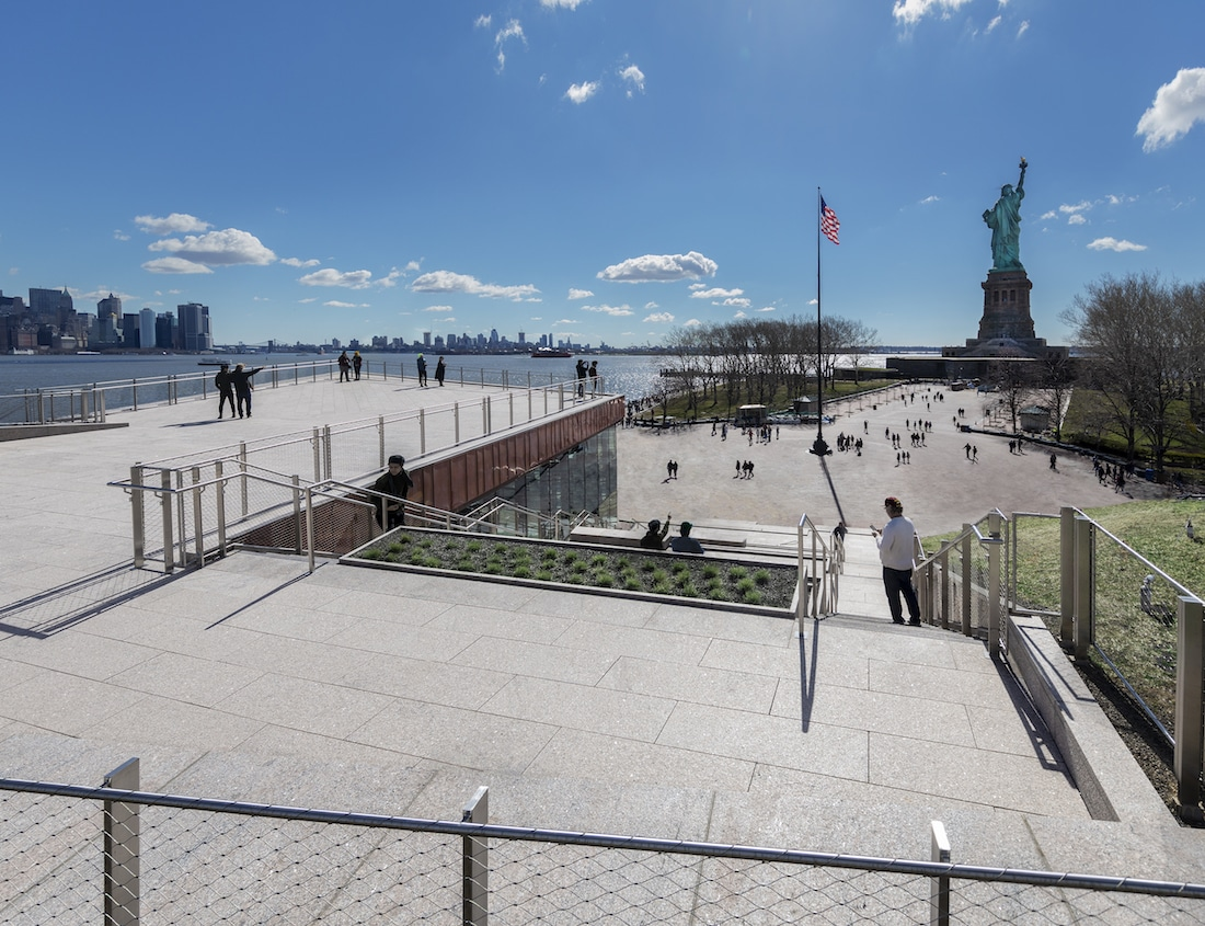 New Museum at the Statue of Liberty