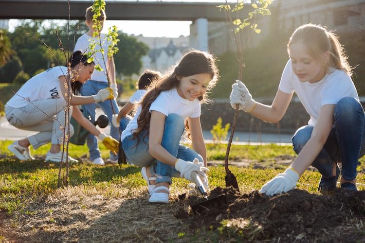 Student Tree Planting Philippines