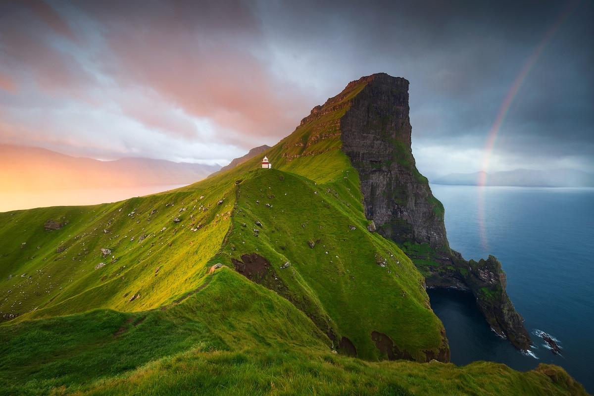 Hermosa fotografía de paisaje por Sven Broeckx