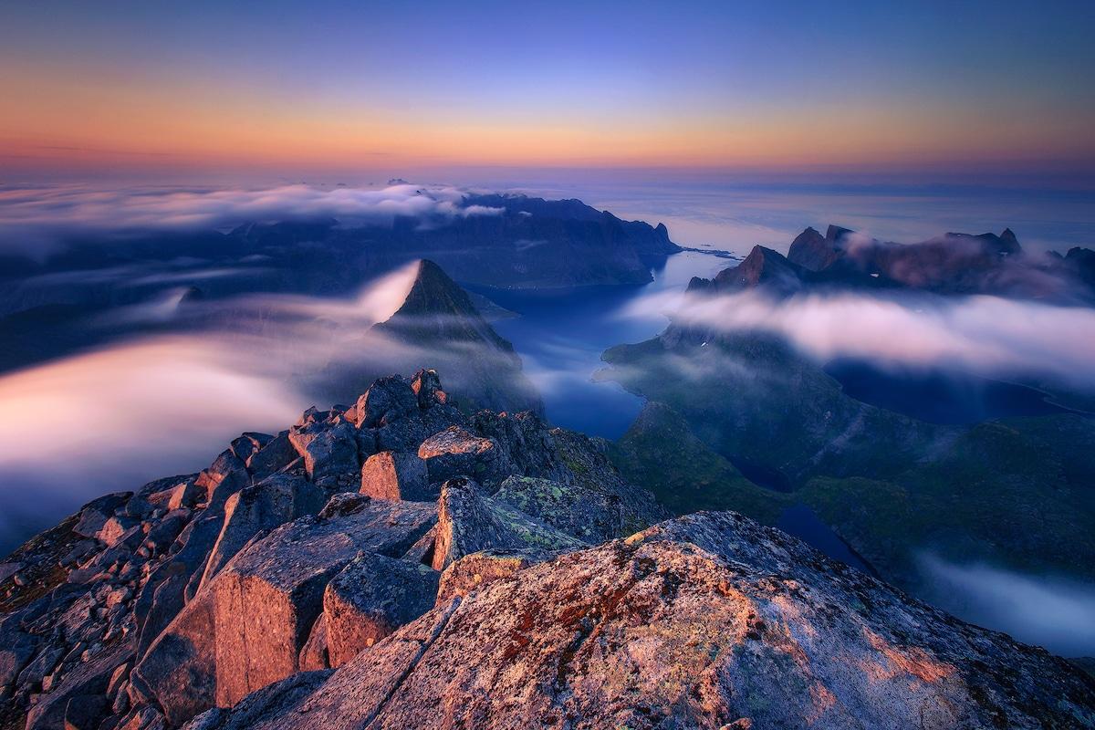 Fotografía de paisajes de Sven Broeckx