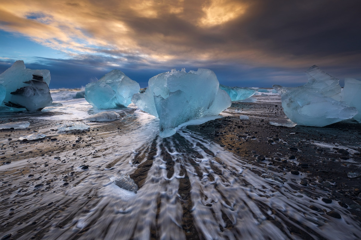 Photo of Ice Blocks by Sven Broeckx