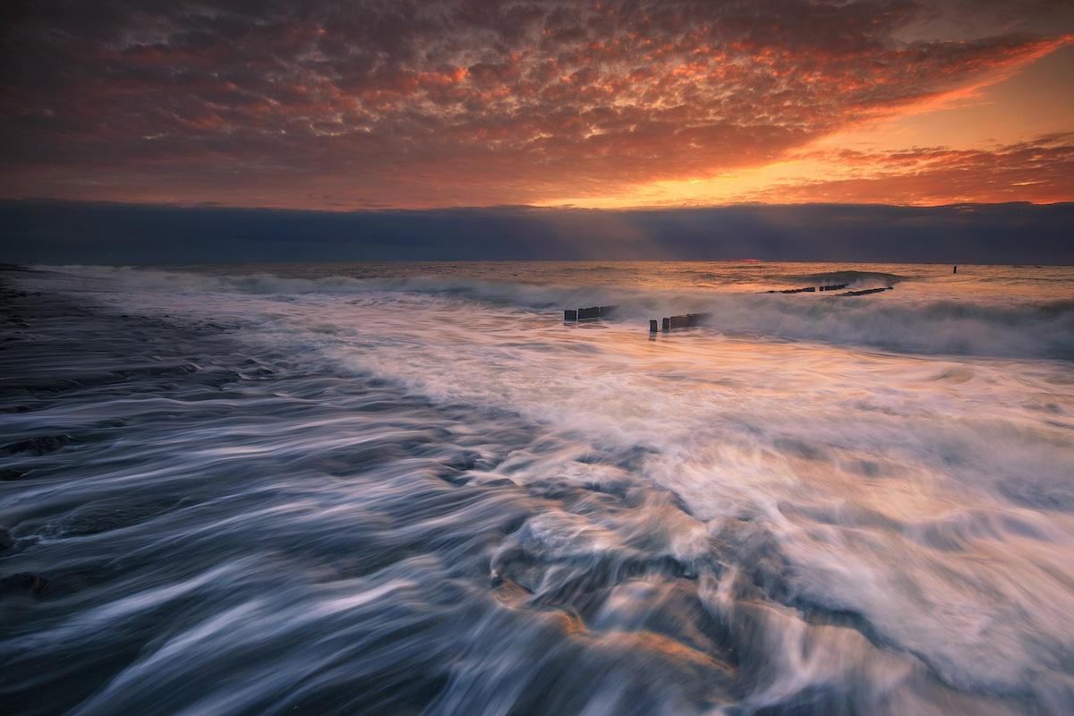 Fotografía de paisaje marítimo