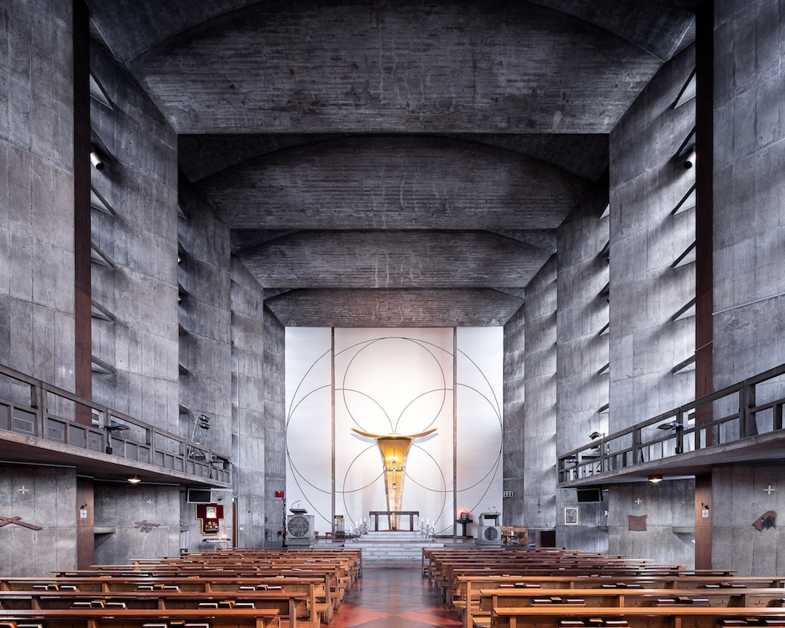 Sacred Spaces by Thibaud Poirier