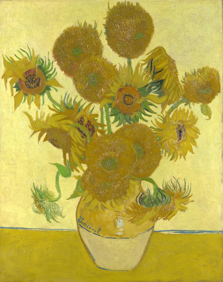 Van Gogh Original Sunflowers