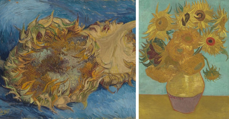 Van Gogh Sunflower Paintings