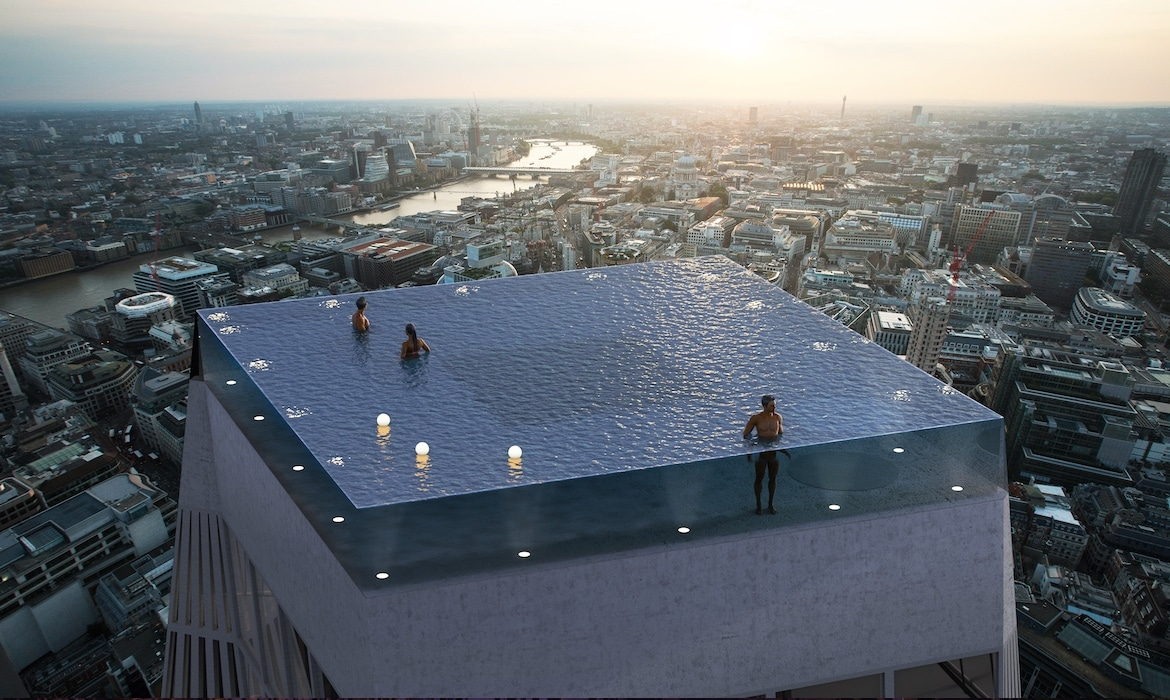 World S First 360 Degree Infinity Pool Will Soon Soar Over