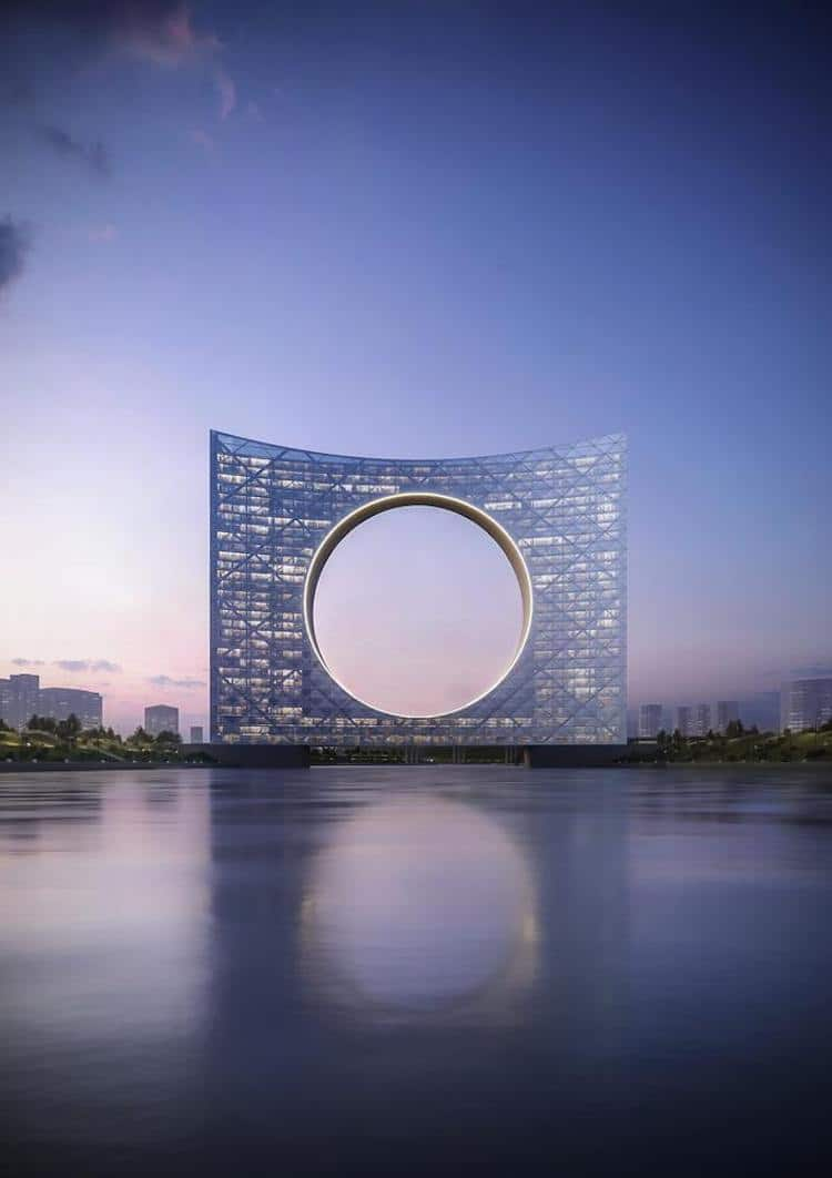 Tower of the Sun in Astana, by Fundamental Architects