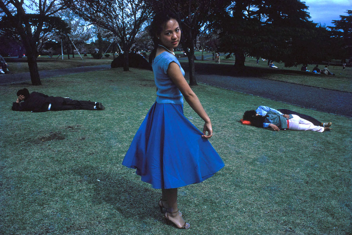 Girl in Yoyogi Park by Greg Girard