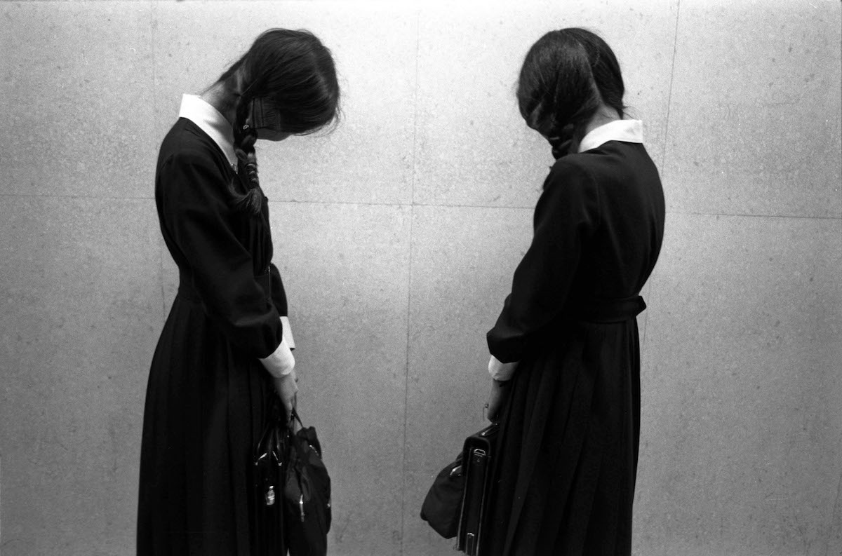 Two Japanese Schoolgirls by Greg Girard