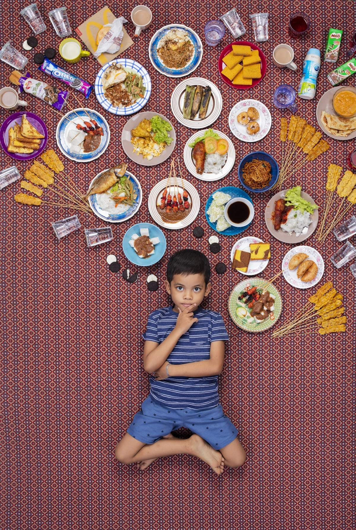 What kids eat around the world?