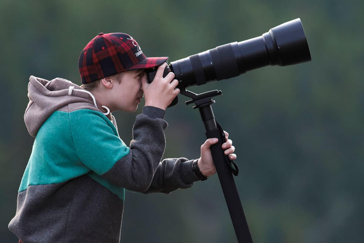 Josiah Launstein - Teenage Wildlife Photographer