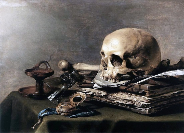 Memento Mori Life And Death In Western Art From Skulls To
