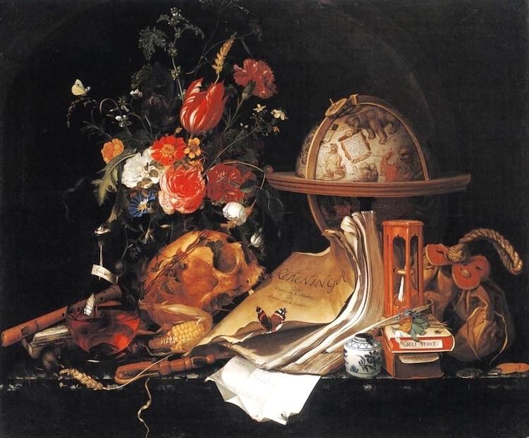Vanitas Painting