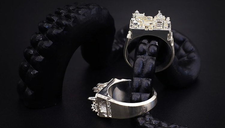 anillos de arquitectura Art is Therapy
