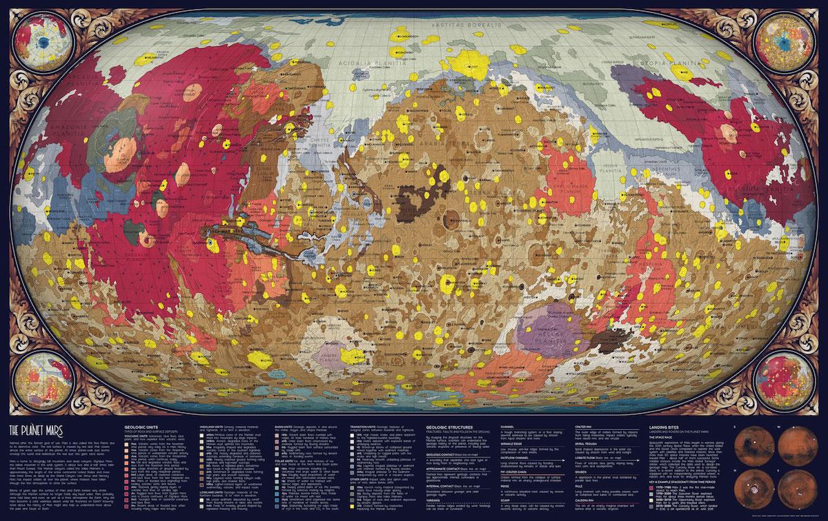 Visualización de datos en mapas astronómicos