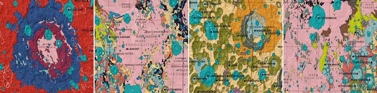 Visualización de datos - Geología de la Luna