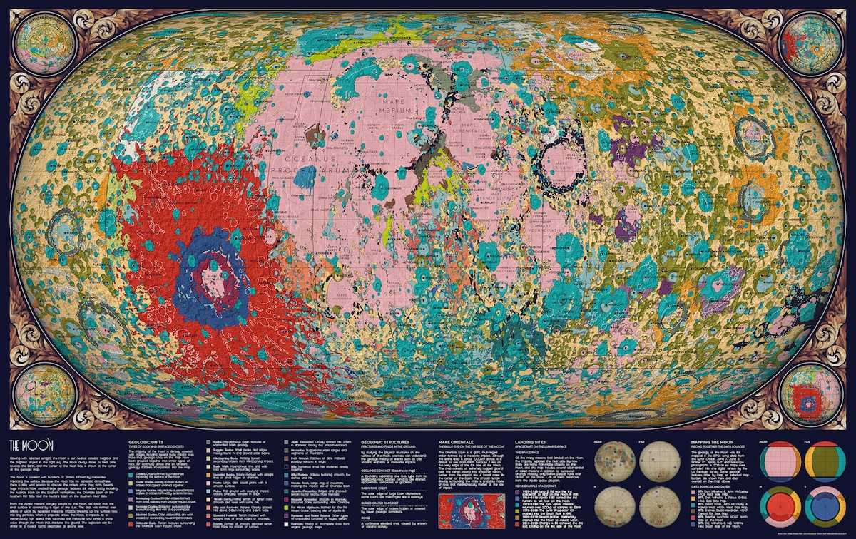 Geology of the Moon Data Visualization