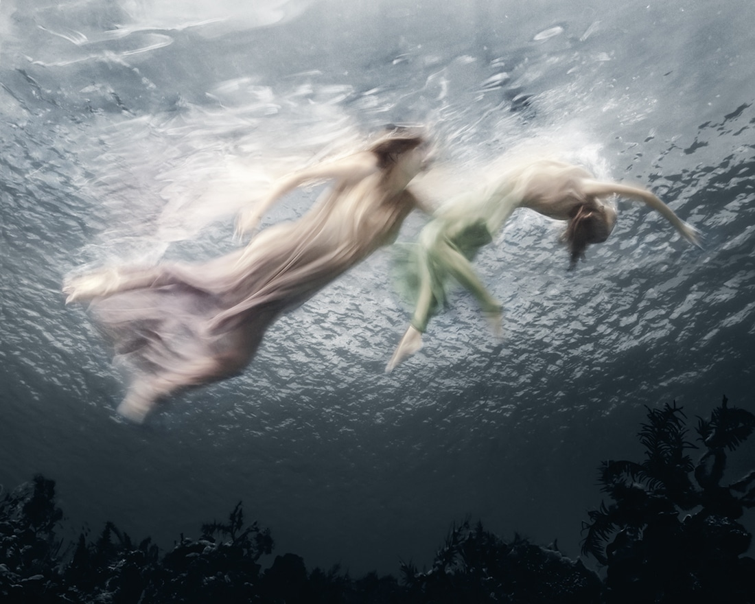 Underwater Portraits of Women