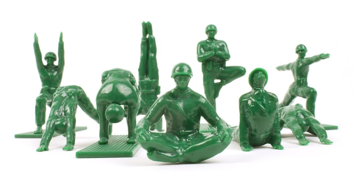 Yoga Army Men