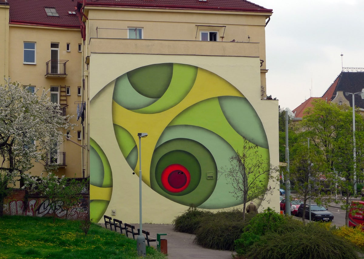 Colorful Mural Art by Jan Kaláb