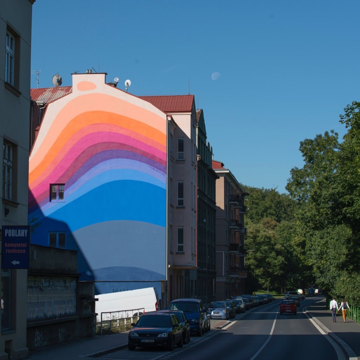 Colorful Street Art Murals by Jan Kaláb