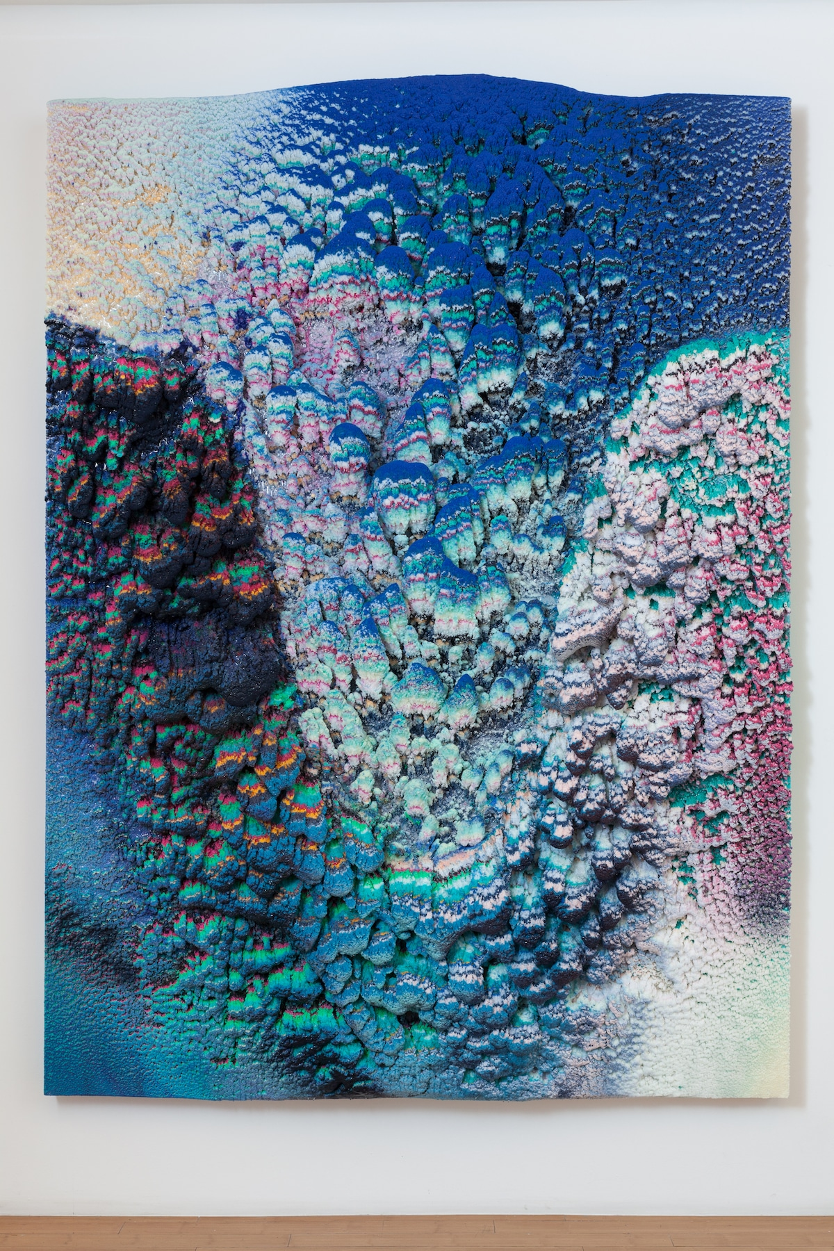 Colorful Wax Paintings by Dylan Gebbia-Richards