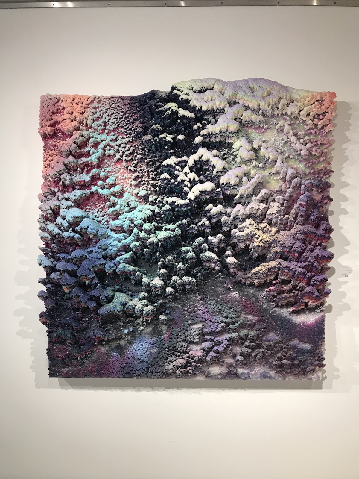 Textured 3D Paintings by Dylan Gebbia-Richards