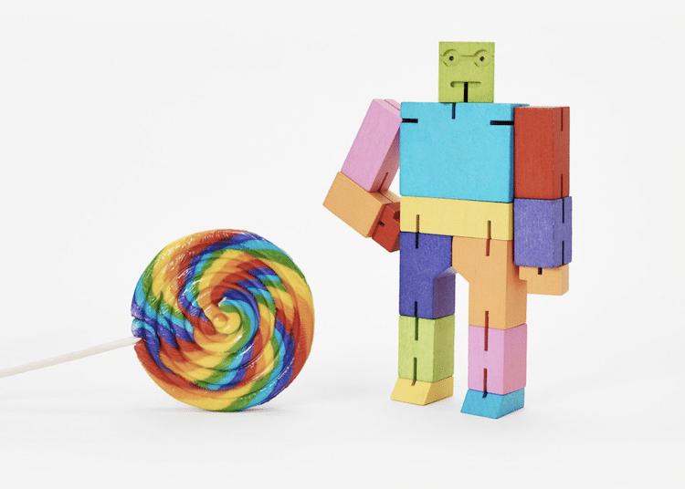 Cubebot Toy