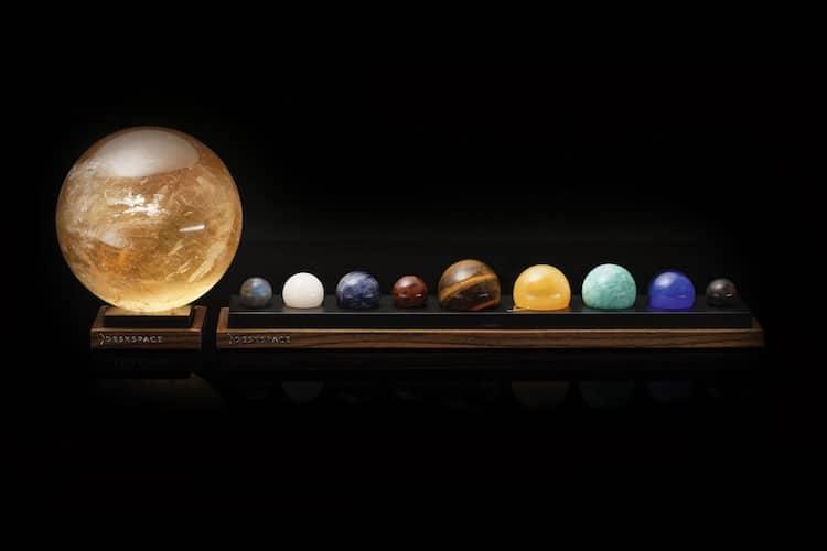 Deskspace Solar System Series With Sun Lamp