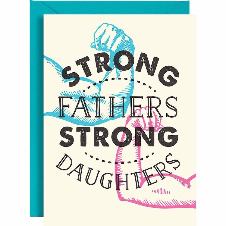 Father Daughter Father's Day Card