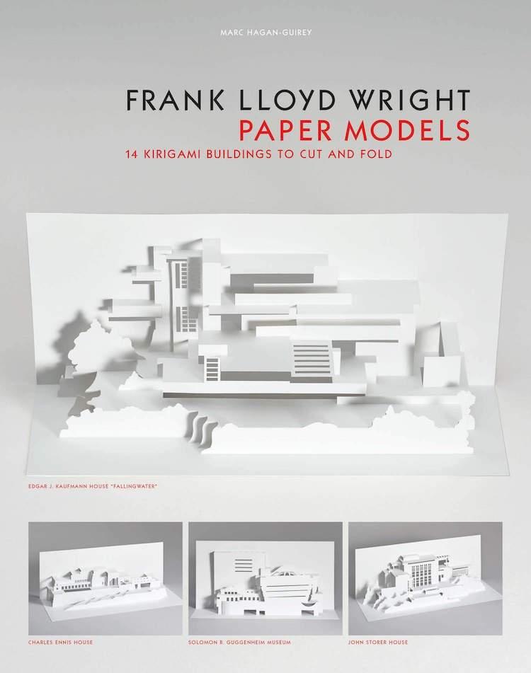 Modelos de papel de Frank Lloyd Wright