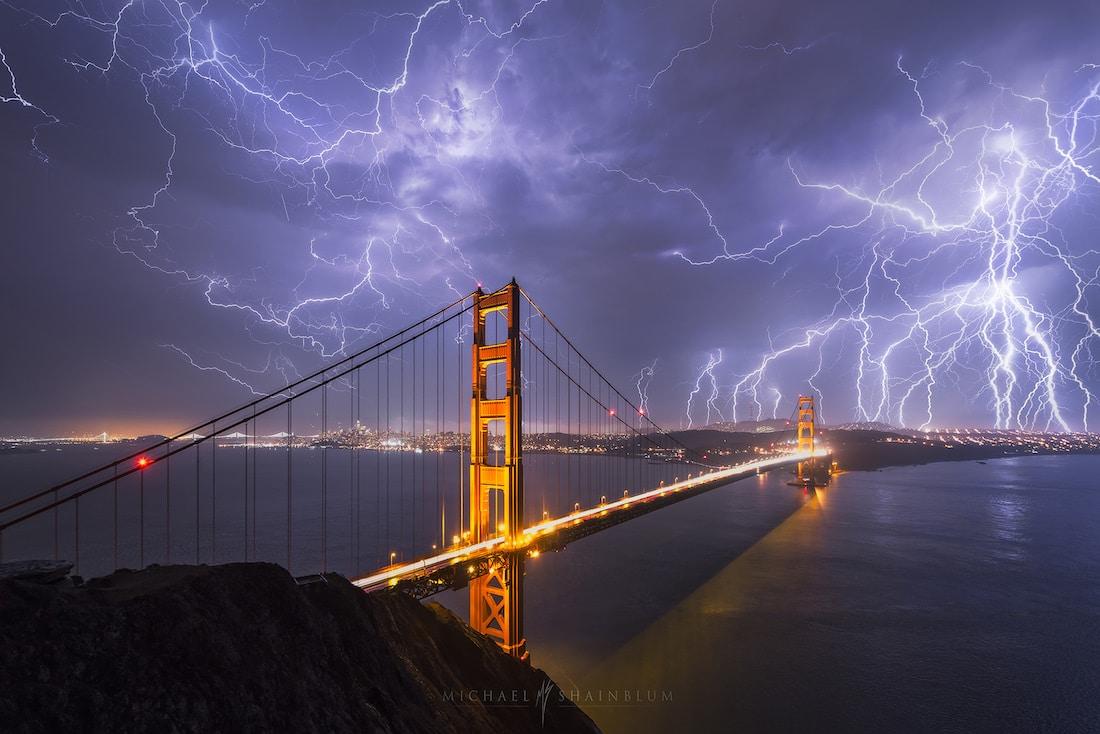 Golden Gate Bridge Timelapse