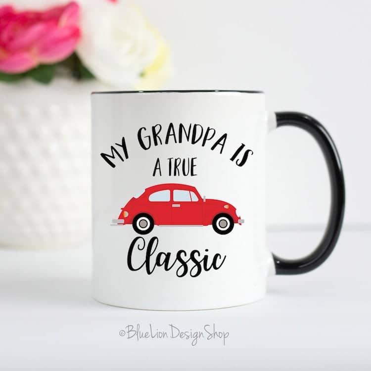Grandpa Mug by Blue Lion Design Shop