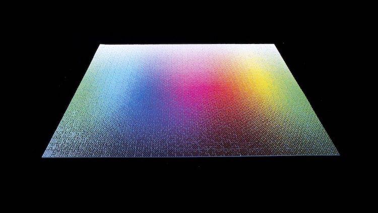 Halftone Colors Puzzle