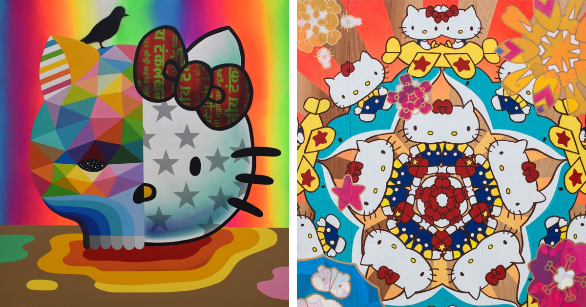 934ca034e 100 Artists are Celebrating Hello Kitty's 45th Anniversary in a Massive  Group Exhibition