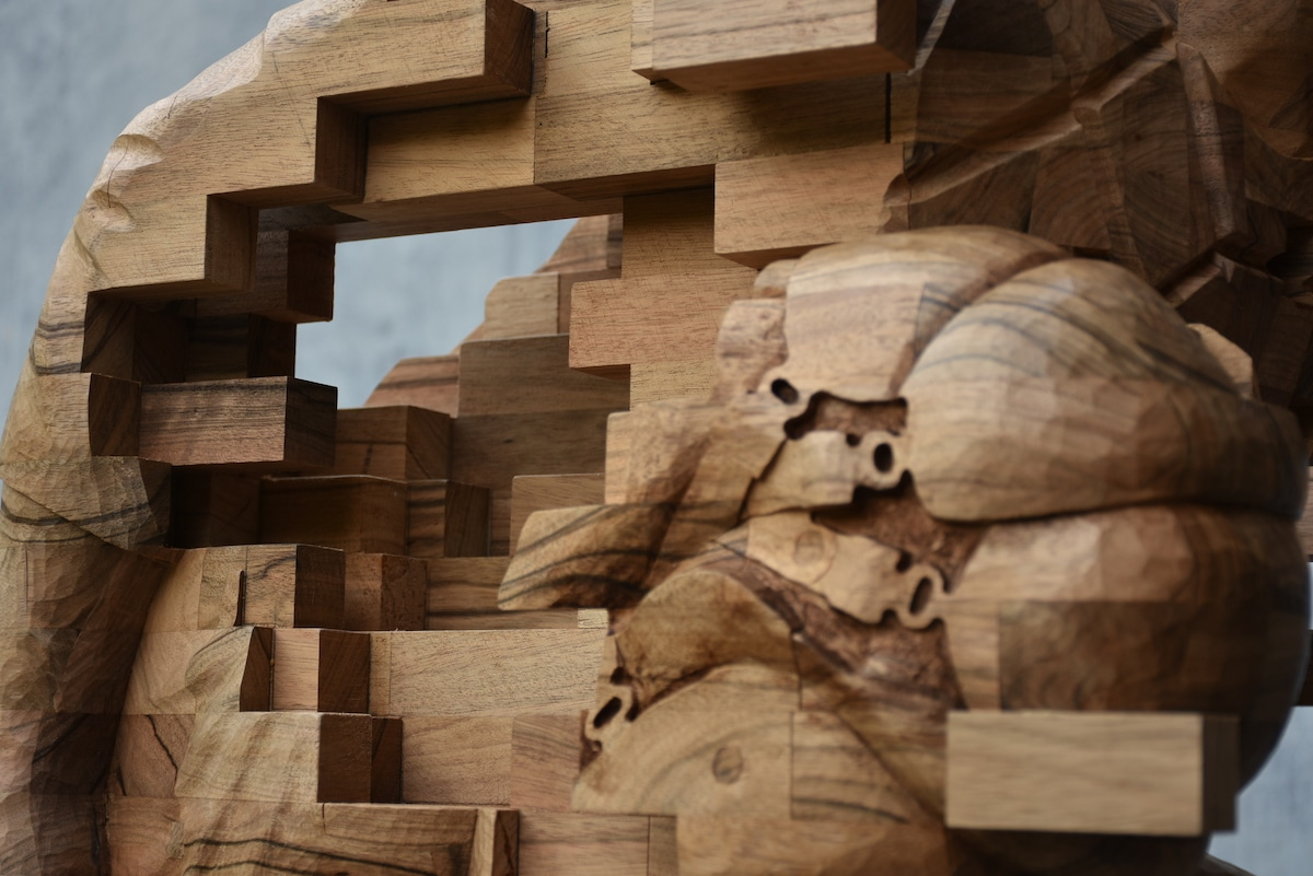 Hsu Tung Han - Contemporary Wood Sculpture