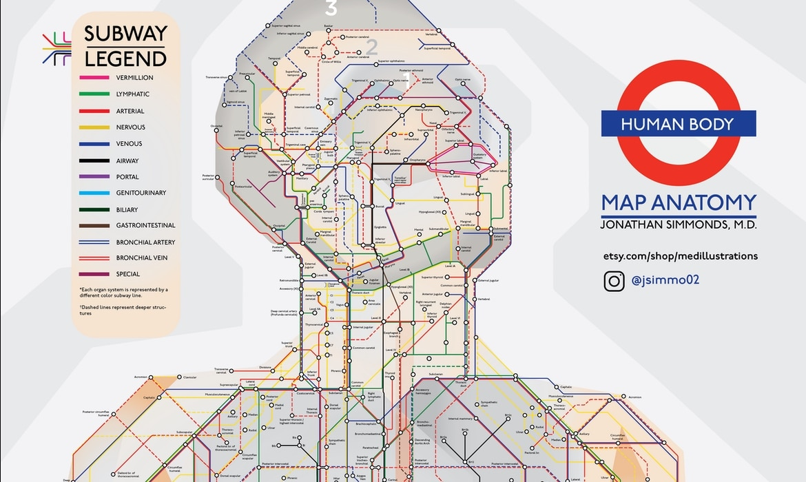 Creative Subway Map.My Modern Met The Big City That Celebrates Creative Ideas
