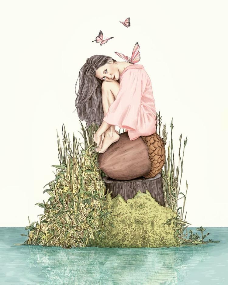 Storybook Illustration Art by Gabriella Barouch