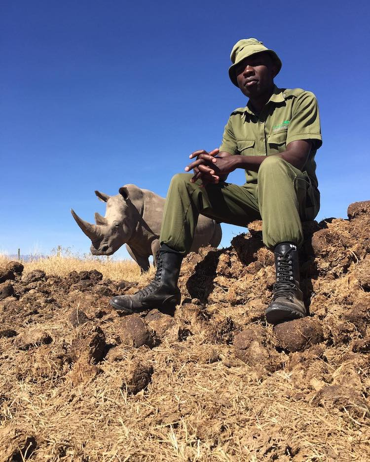 James Mwenda of Ol Pejeta Conservancy