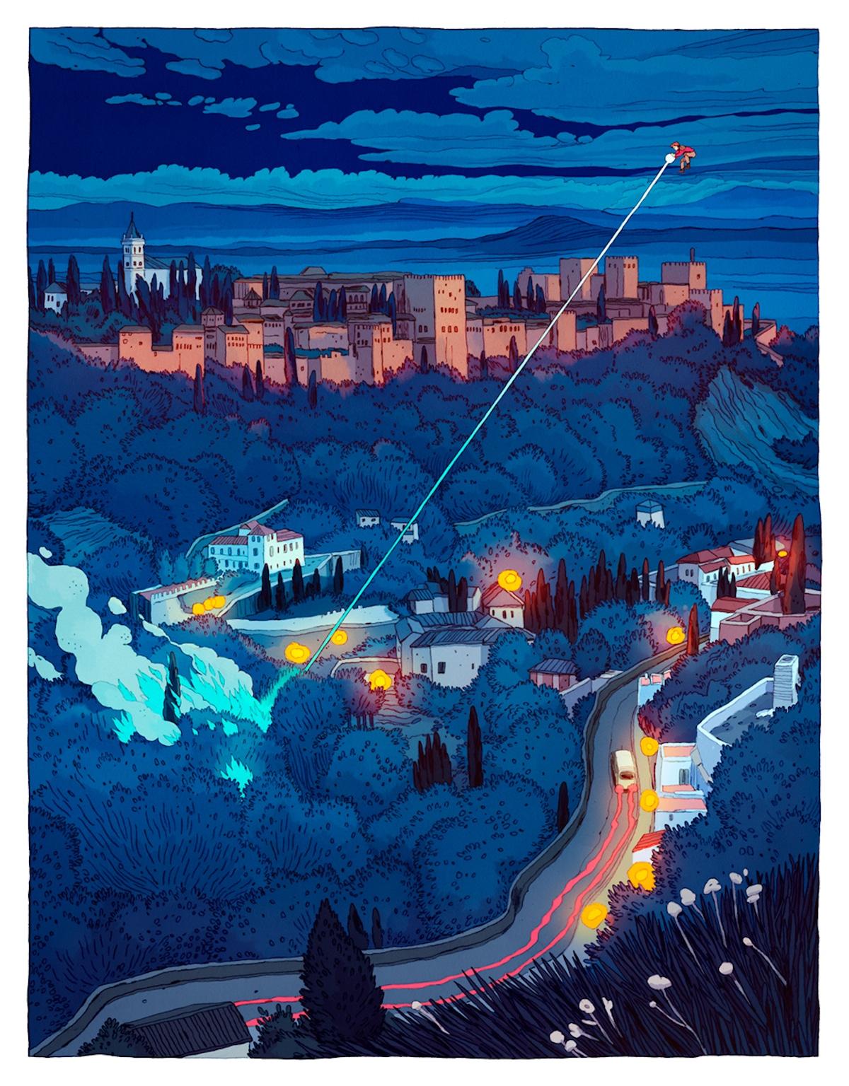 ilustraciones de fantasía por Jon Juarez