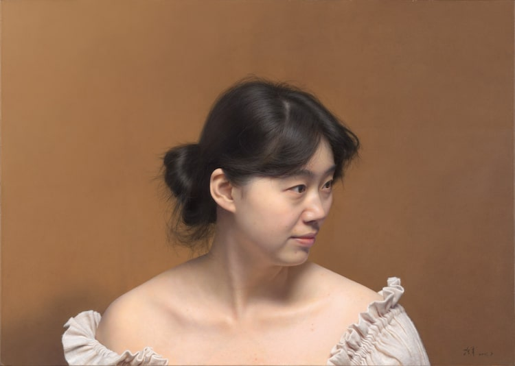 Hyperrealistic Painting by Leng Jun