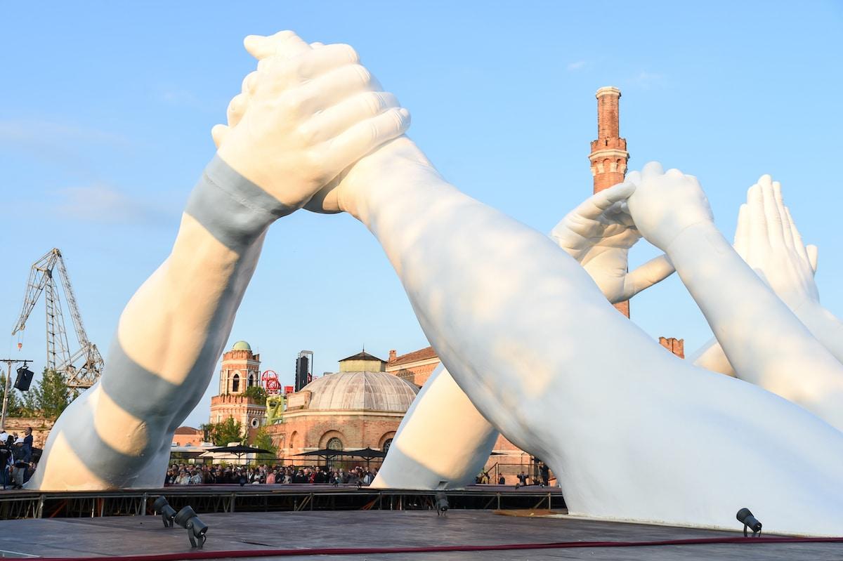 Escultura monumental en Venecia